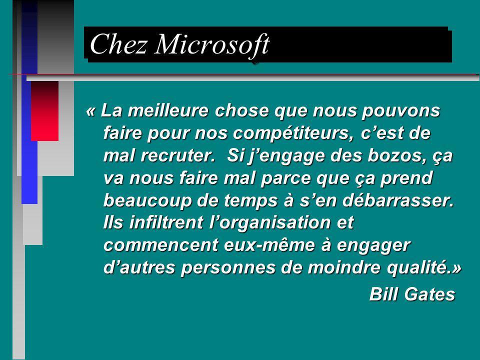 Chez Microsoft