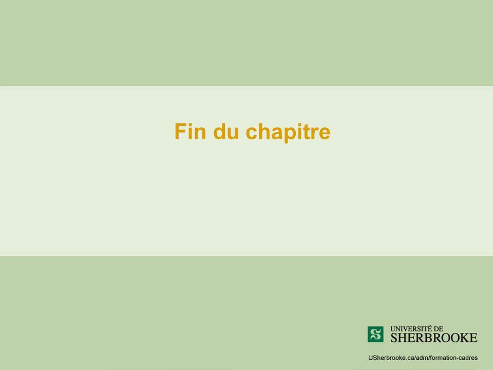 Fin du chapitre