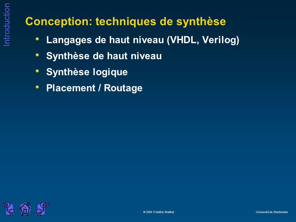 Conception: techniques de synthèse