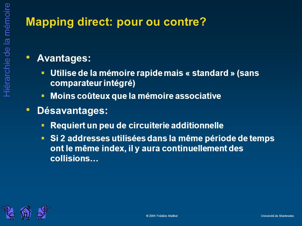 Mapping direct: pour ou contre
