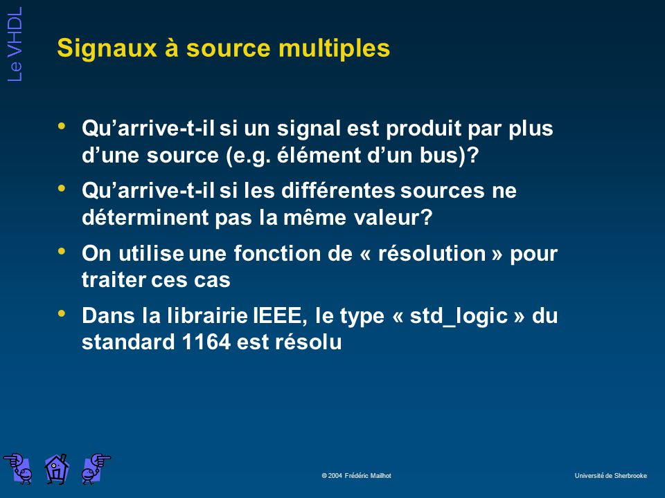 Signaux à source multiples