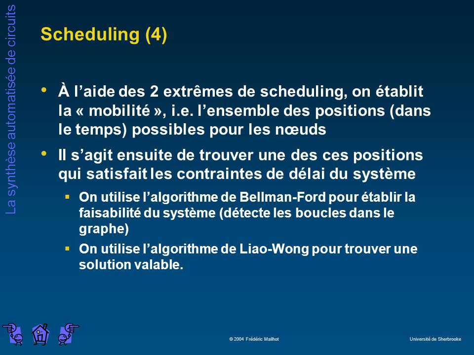 Scheduling (4)