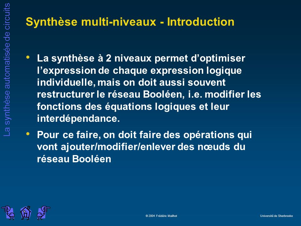 Synthèse multi-niveaux - Introduction