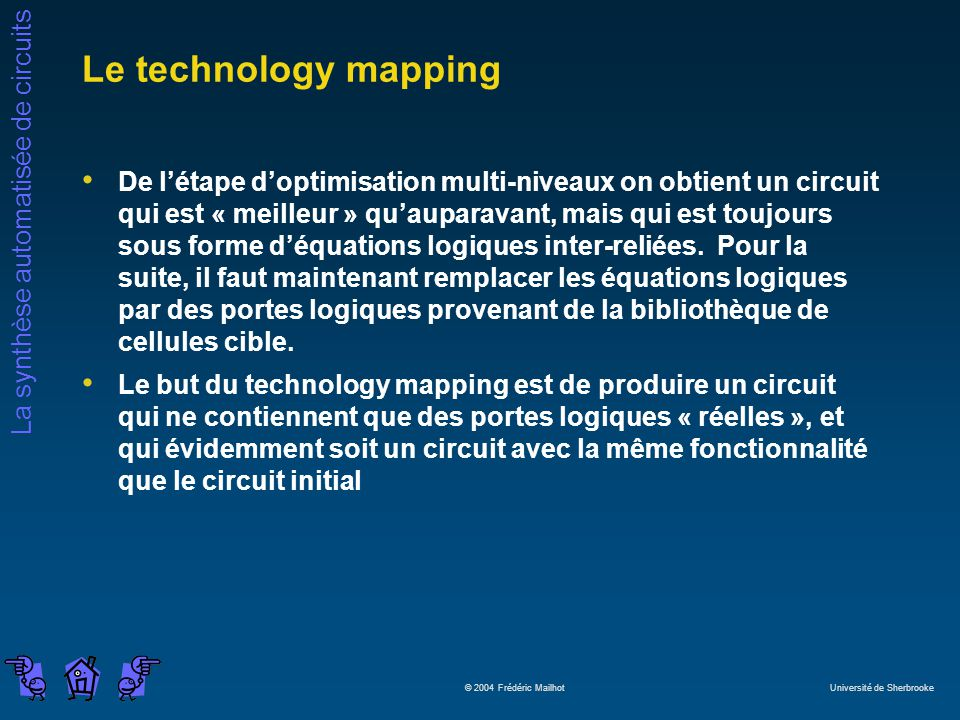 Le technology mapping