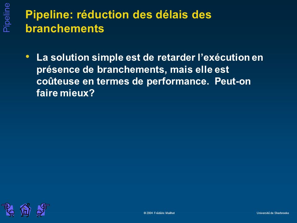 Pipeline: réduction des délais des branchements