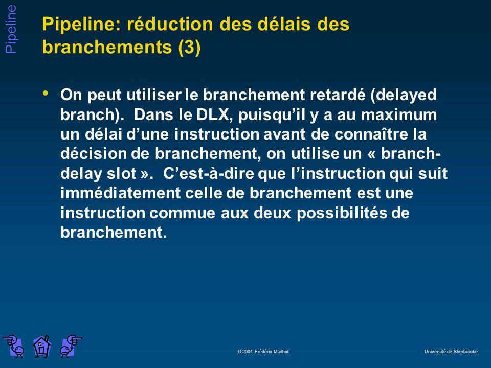 Pipeline: réduction des délais des branchements (3)