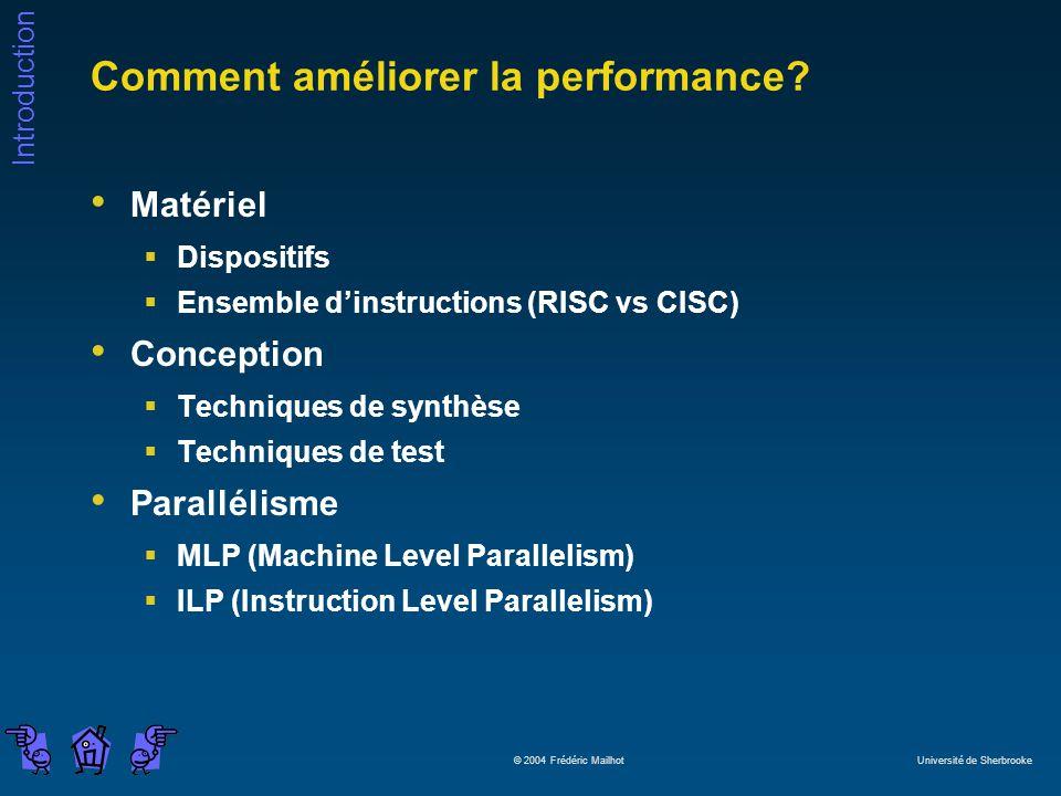 Comment améliorer la performance