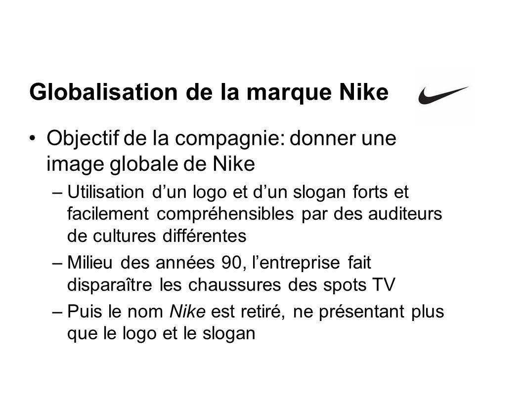 Globalisation de la marque Nike