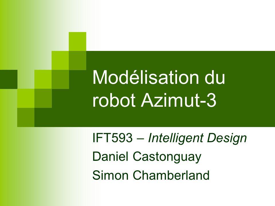 Modélisation du robot Azimut-3