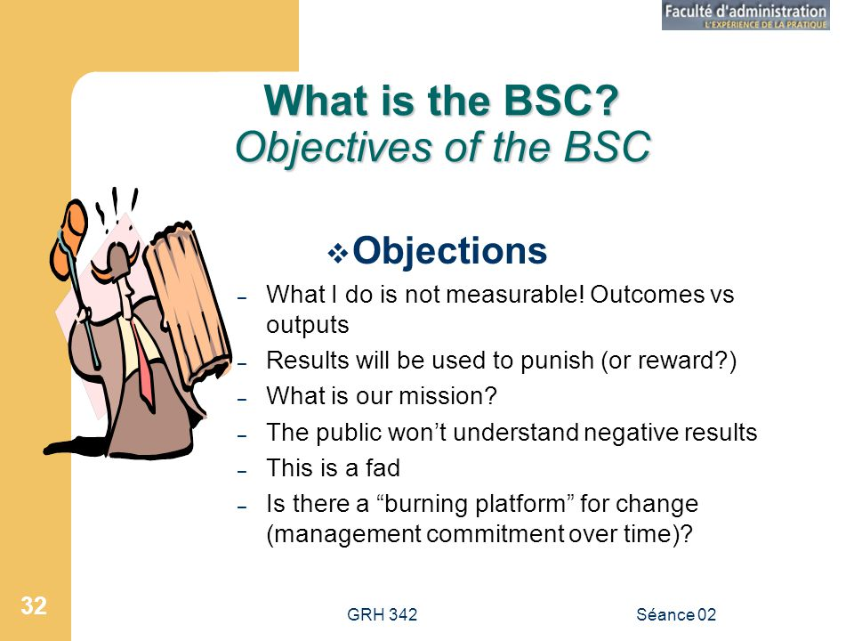 What is the BSC Objectives of the BSC