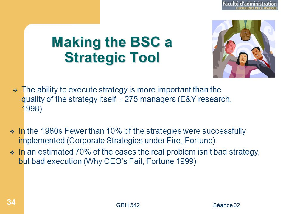 Making the BSC a Strategic Tool