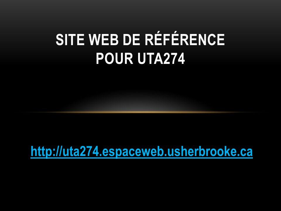 Site web de référence pour uta274