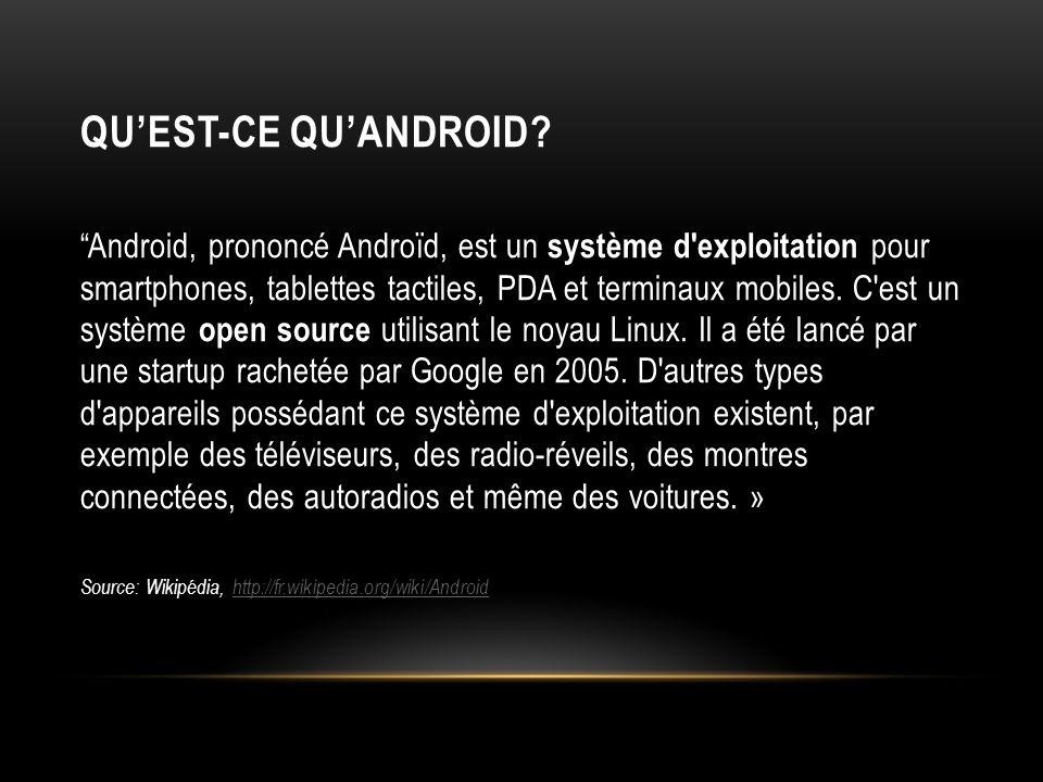 Qu'est-ce qu'Android
