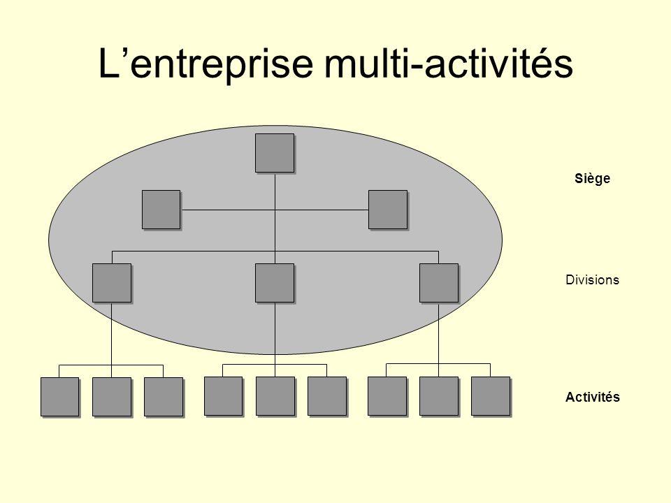 L'entreprise multi-activités