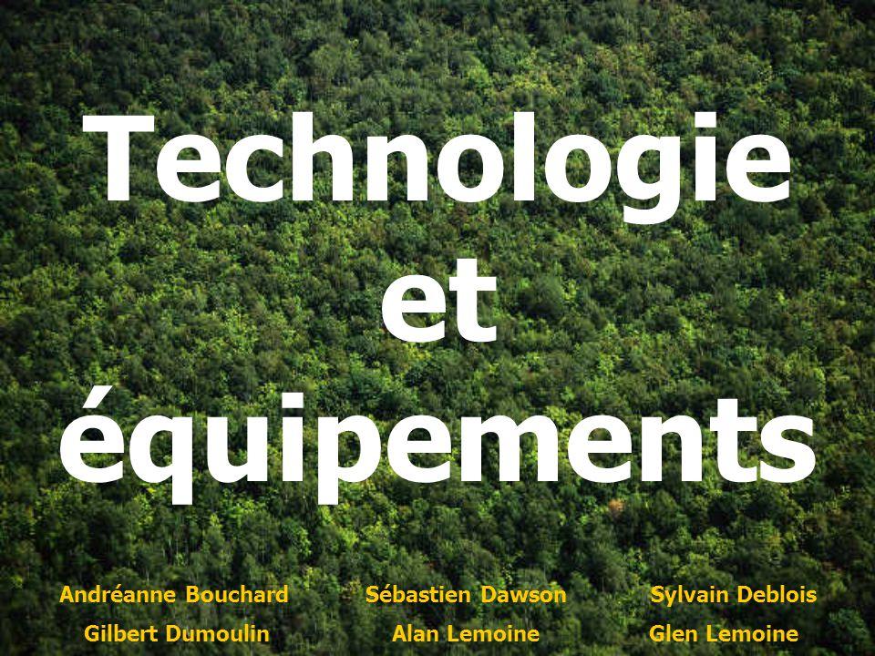 Technologie et équipements