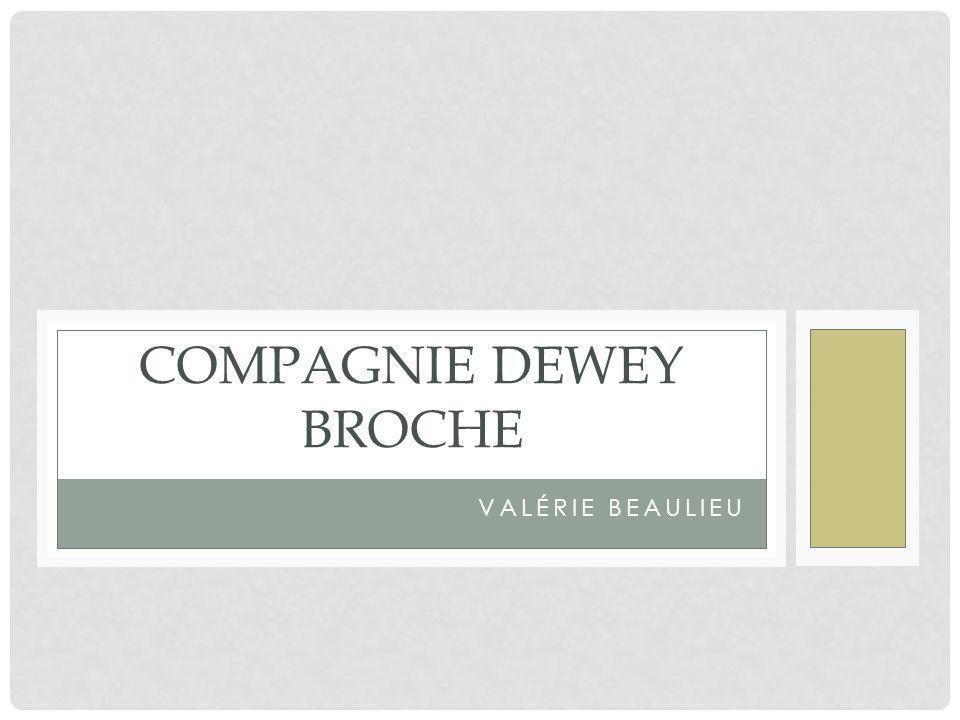 Compagnie Dewey broche