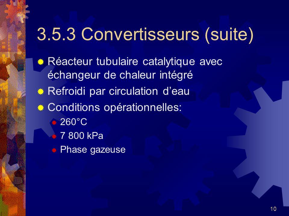 3.5.3 Convertisseurs (suite)