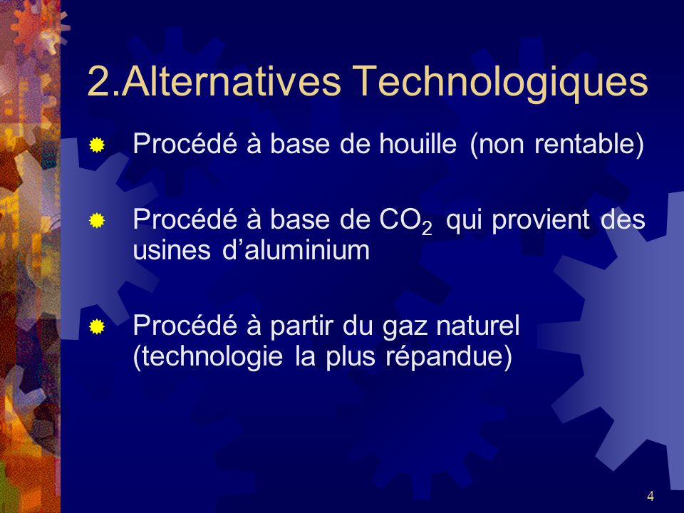 2.Alternatives Technologiques