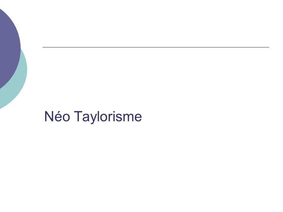Néo Taylorisme