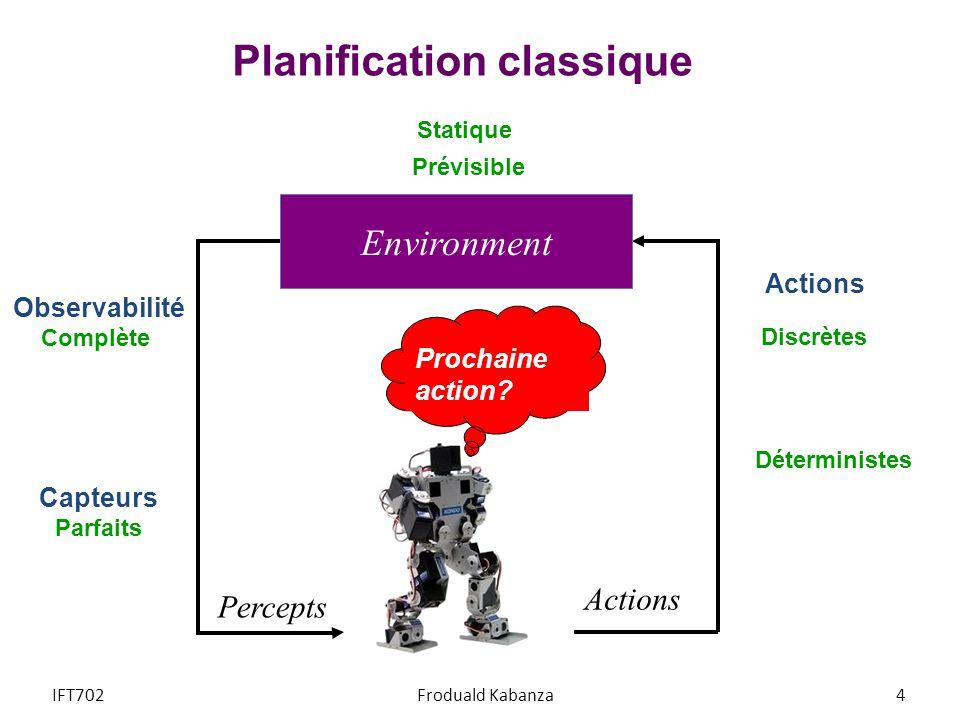 Planification classique