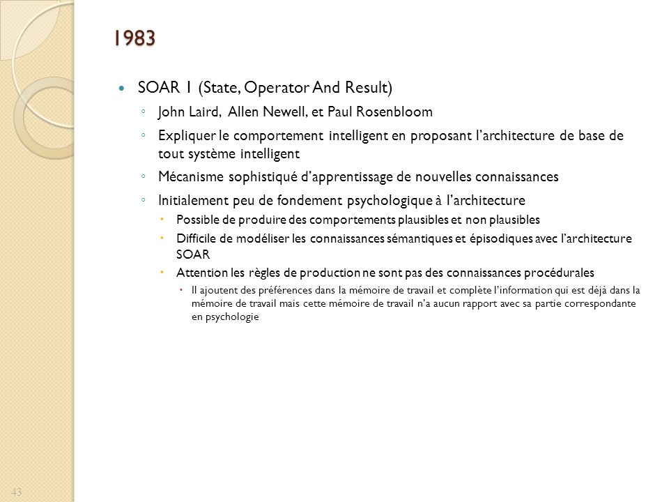 1983 SOAR 1 (State, Operator And Result)