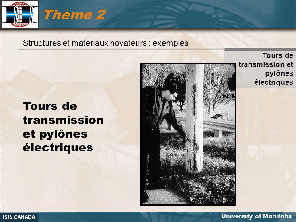 Thème 2 Tours de transmission et pylônes électriques