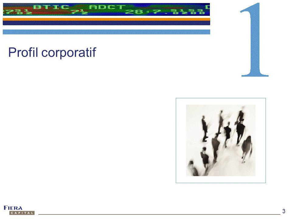 Profil corporatif