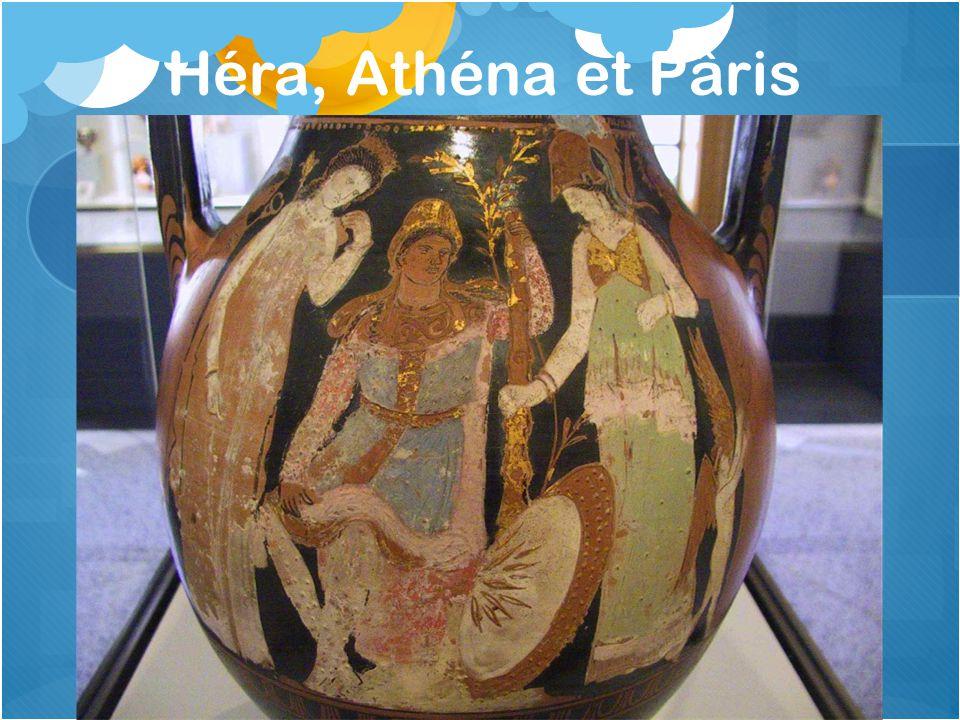 Héra, Athéna et Pâris