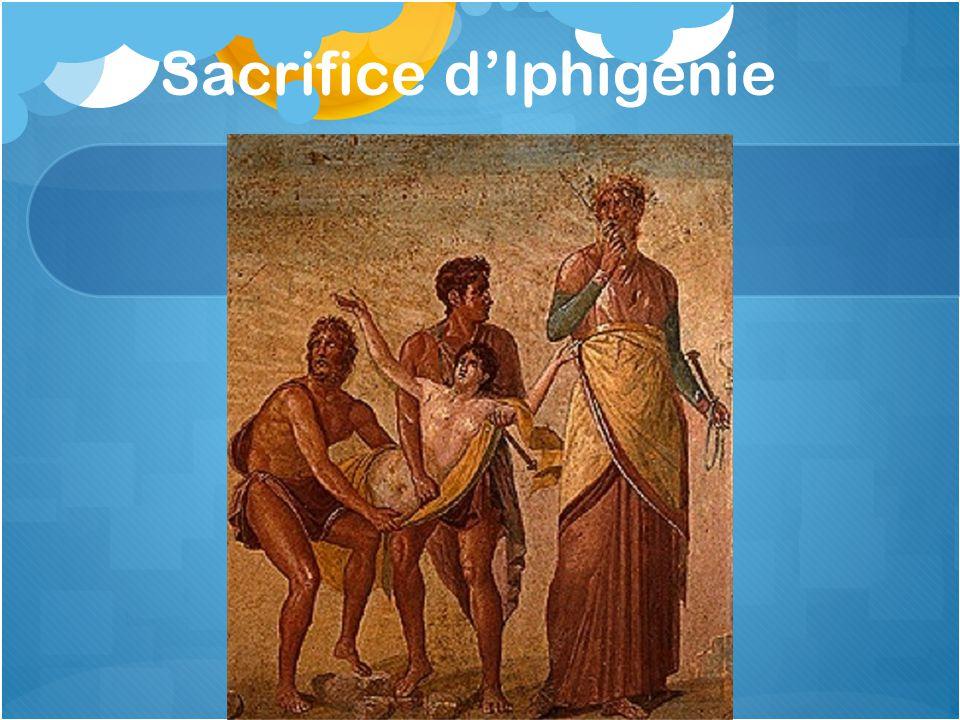Sacrifice d'Iphigénie