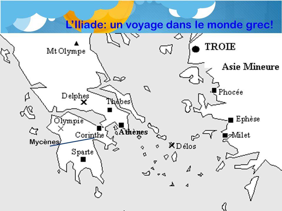 L'Iliade: un voyage dans le monde grec!