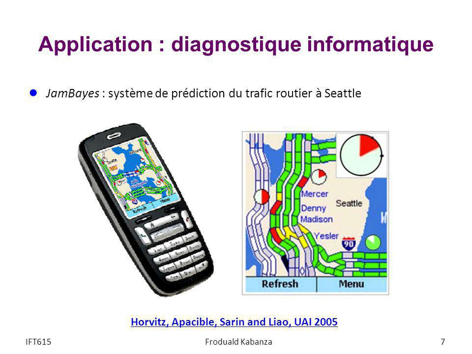 Application : diagnostique informatique