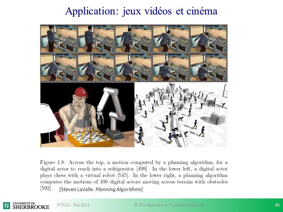 Application: jeux vidéos et cinéma