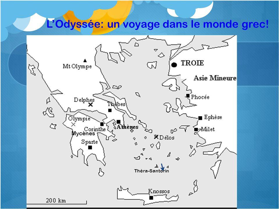 L'Odyssée: un voyage dans le monde grec!