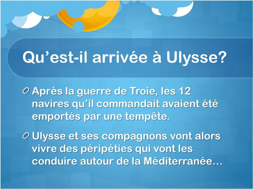 Qu'est-il arrivée à Ulysse