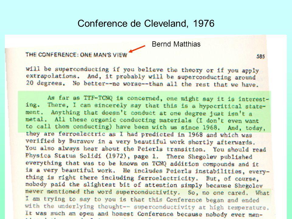 Conference de Cleveland, 1976