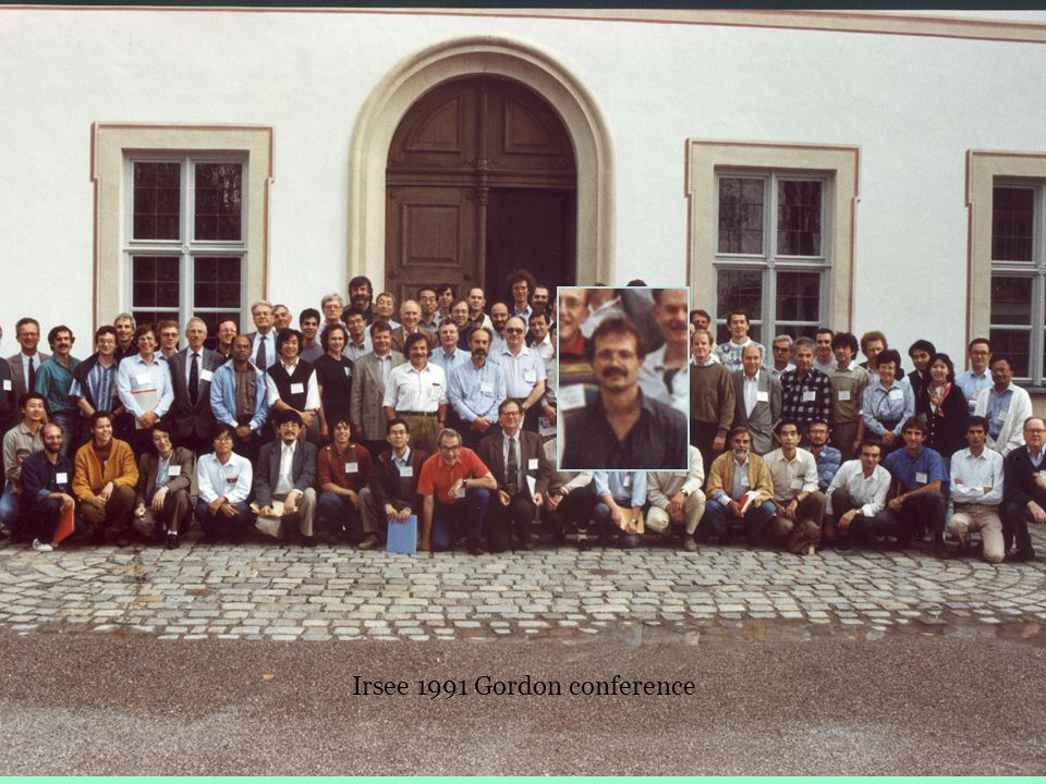 Irsee 1991 Gordon conference