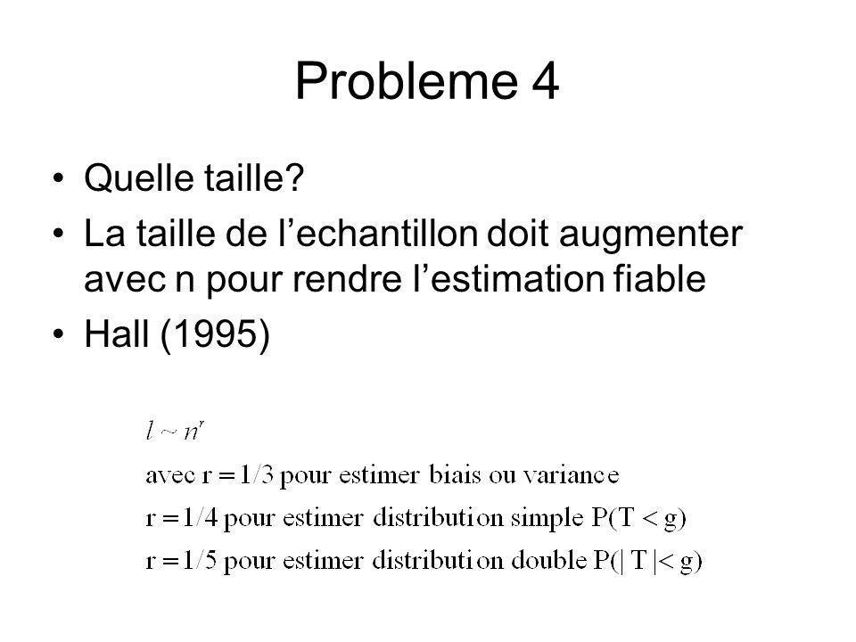 Probleme 4 Quelle taille