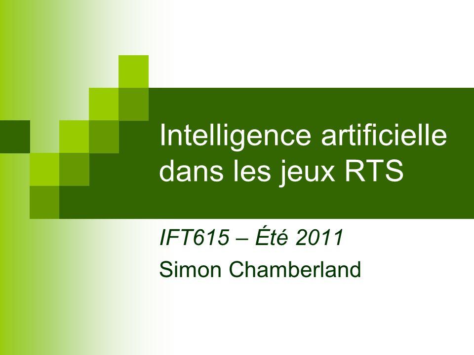 Intelligence artificielle dans les jeux RTS