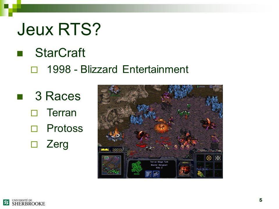 Jeux RTS StarCraft 3 Races 1998 - Blizzard Entertainment Terran