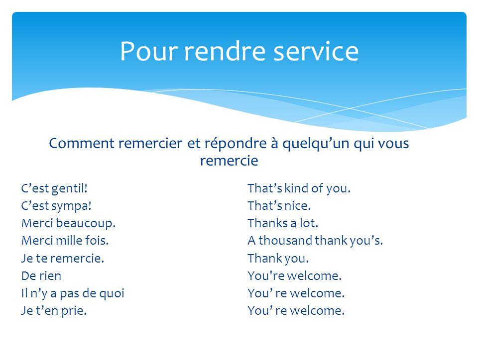Comment remercier et répondre à quelqu'un qui vous remercie