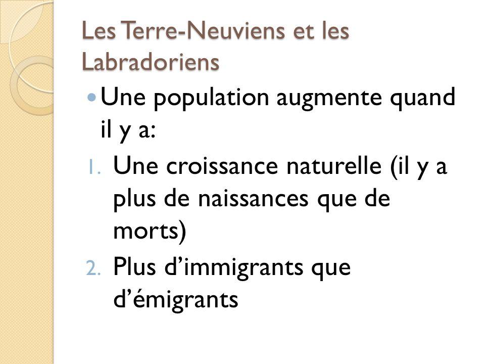 Les Terre-Neuviens et les Labradoriens