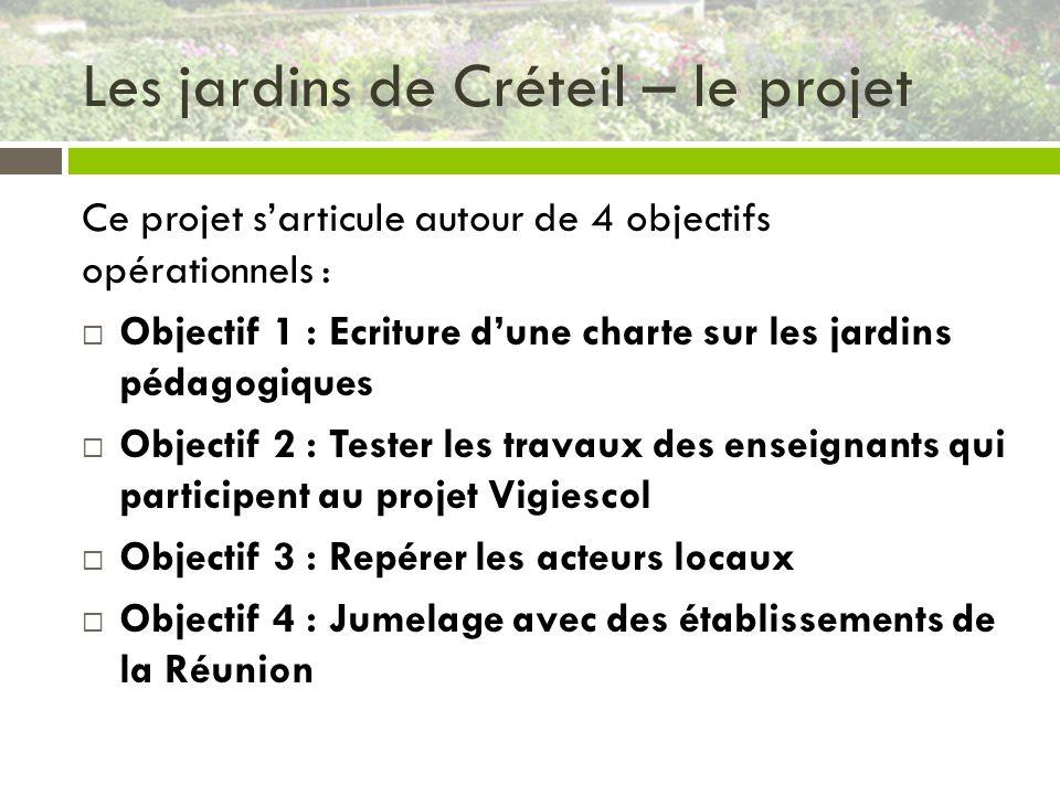 Les jardins de Créteil – le projet