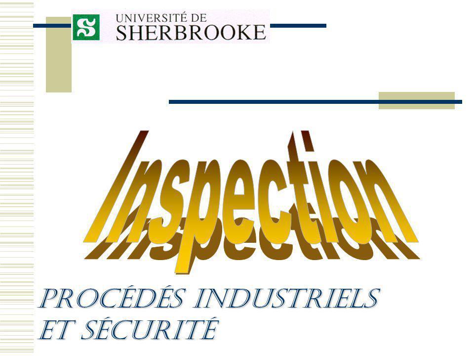 Procédés Industriels et sécurité