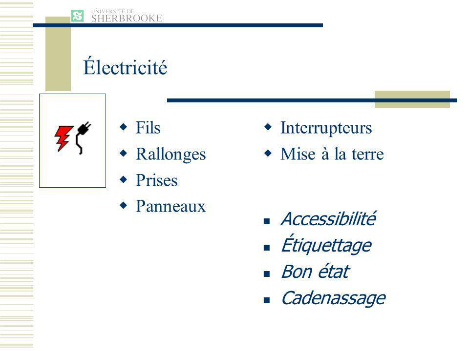 Électricité Fils Rallonges Prises Panneaux Interrupteurs