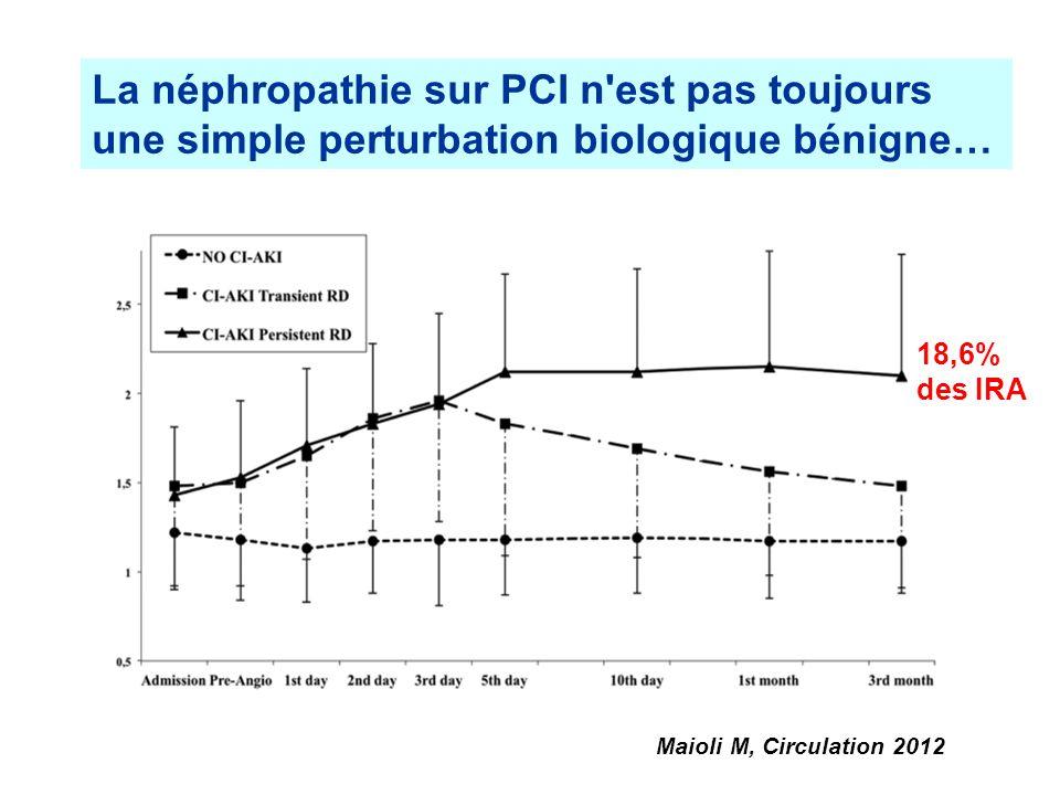 La néphropathie sur PCI n est pas toujours