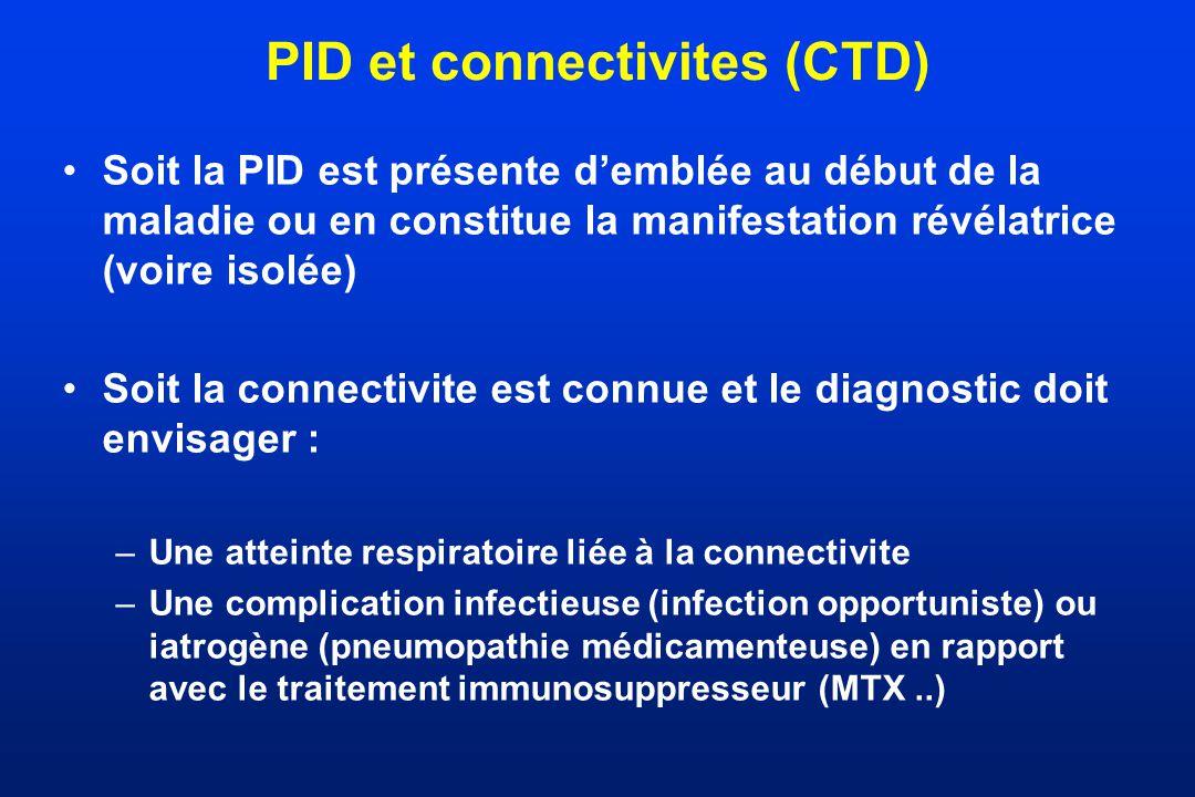 PID et connectivites (CTD)