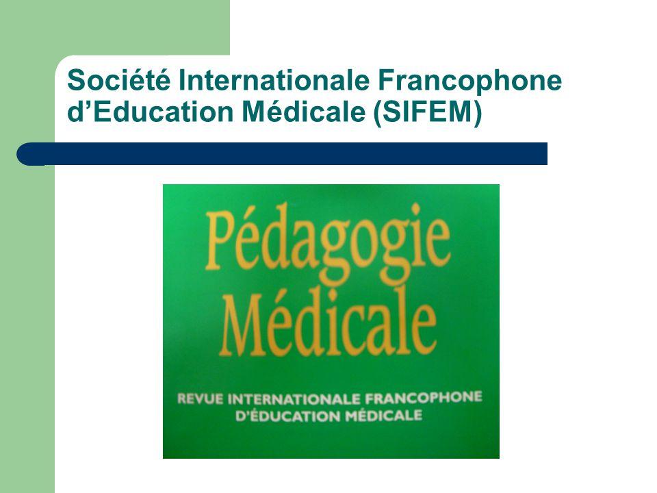 Société Internationale Francophone d'Education Médicale (SIFEM)