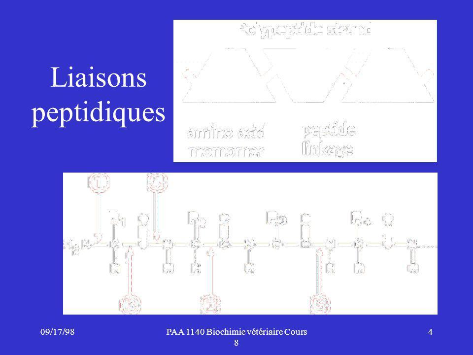 PAA 1140 Biochimie vétériaire Cours 8