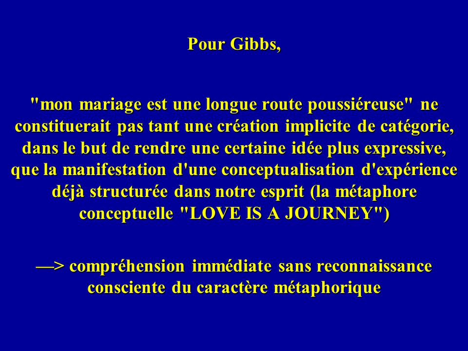 Pour Gibbs,