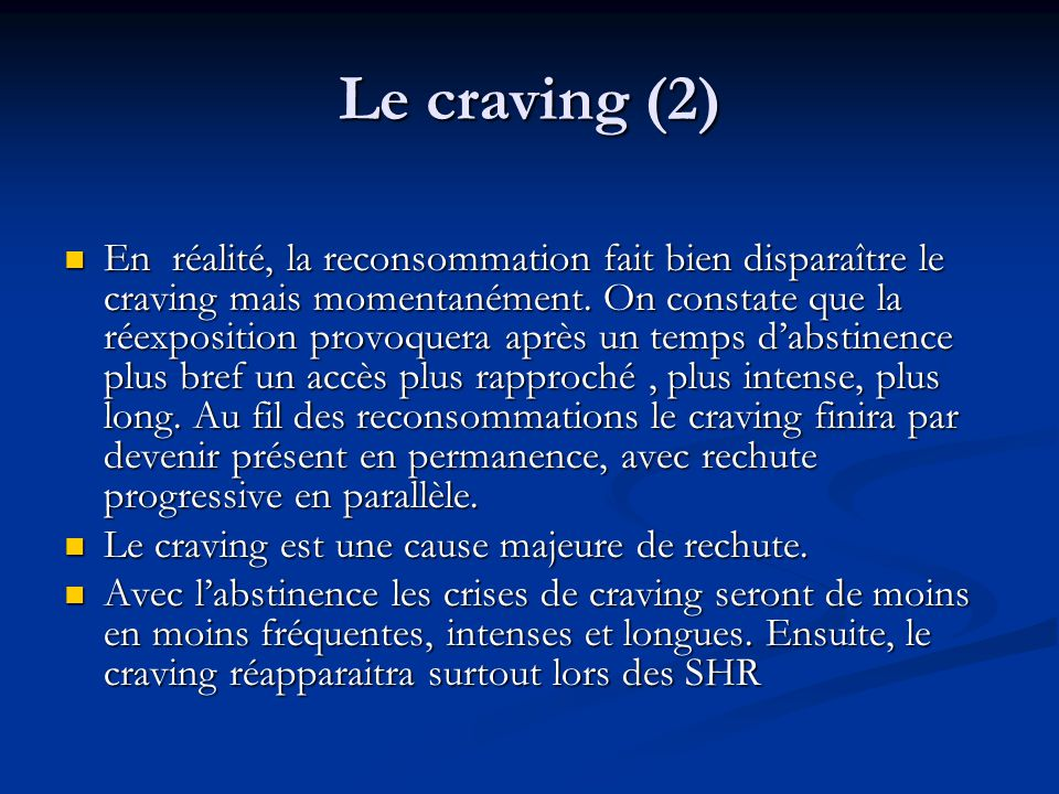 Le craving (2)